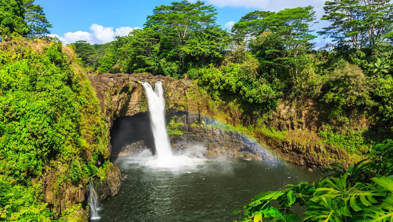Rainbow Falls - Hawaii